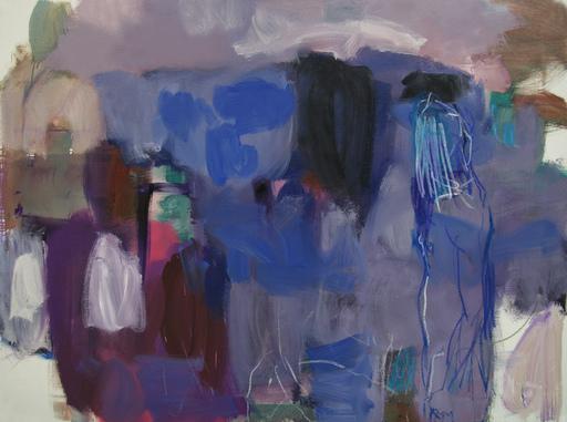 Klaus Karl MEHRKENS - Painting - Via Flaminia