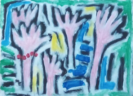 Harry BARTLETT FENNEY - Pittura - the red bead bracelet