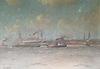 Carl Friedrich WINKLER-HAGEDORN - Painting - Hamburger Hafen