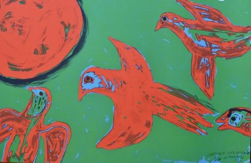 CORNEILLE - Stampa Multiplo - Ivresse des oiseaux