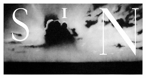 Ed RUSCHA - Stampa-Multiplo - Sin / Withouth,