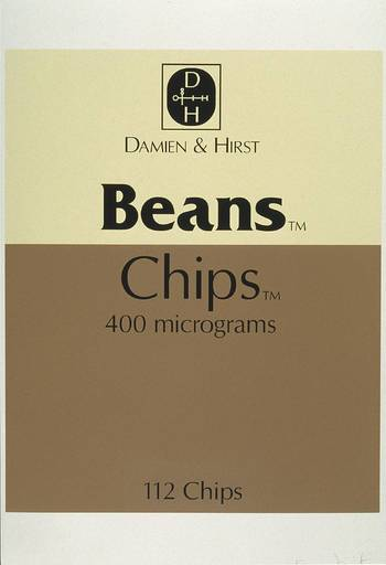 Damien HIRST - Print-Multiple - Beans and Chips, from The Last Supper