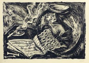 Miquel BARCELO - Print-Multiple - Nature morte