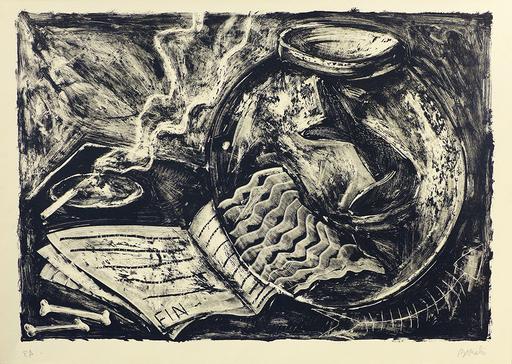 米盖尔·巴塞罗 - 版画 - Nature morte