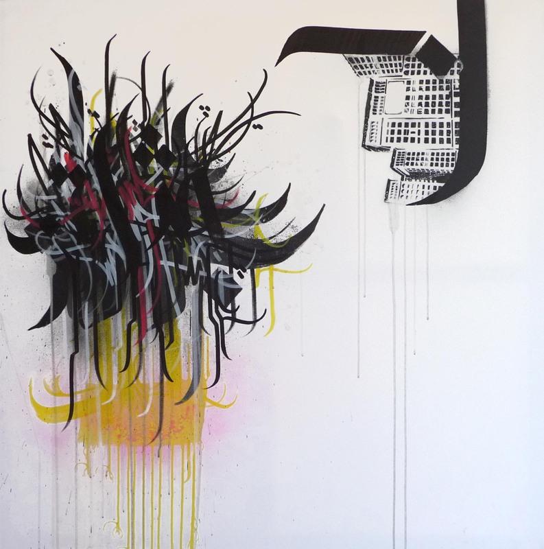 A1ONE - Pintura - ISHQ  -  Paris 04