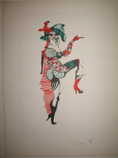 Leonor FINI - Print-Multiple - Le chat botté,1973.
