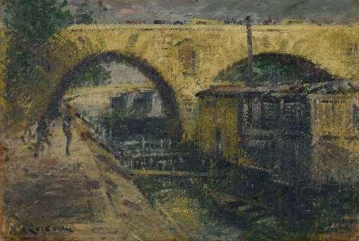 Gustave LOISEAU - Pintura - Pont Marie, Paris