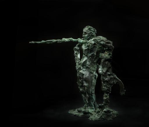 Sasha SVIYAZOV - 雕塑 - The man leaned against the water column