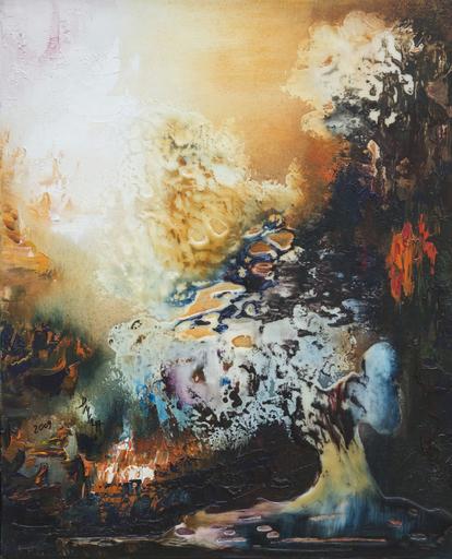 Danielle MAILLET-VILA - Painting - Accident