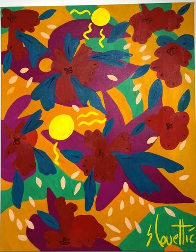 Sébastien COUEFFIC - Painting - Les indiennes 3
