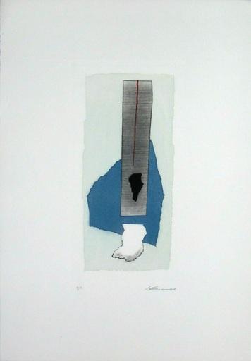 Giuseppe SANTOMASO - Grabado - Composition