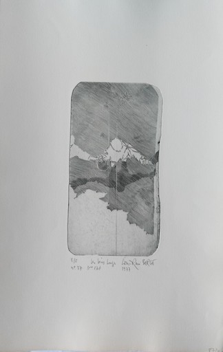 Louis-René BERGE - Stampa-Multiplo - Les bras longs