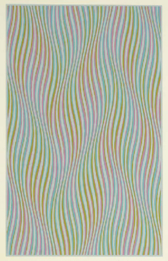 Bridget RILEY - Estampe-Multiple - Elapse