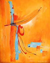 Ursula ULESKI - Gemälde - Sans titre