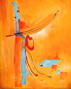 Ursula ULESKI - Peinture - Sans titre