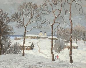Konstantin Ivanovich GORBATOV, Winter Skies