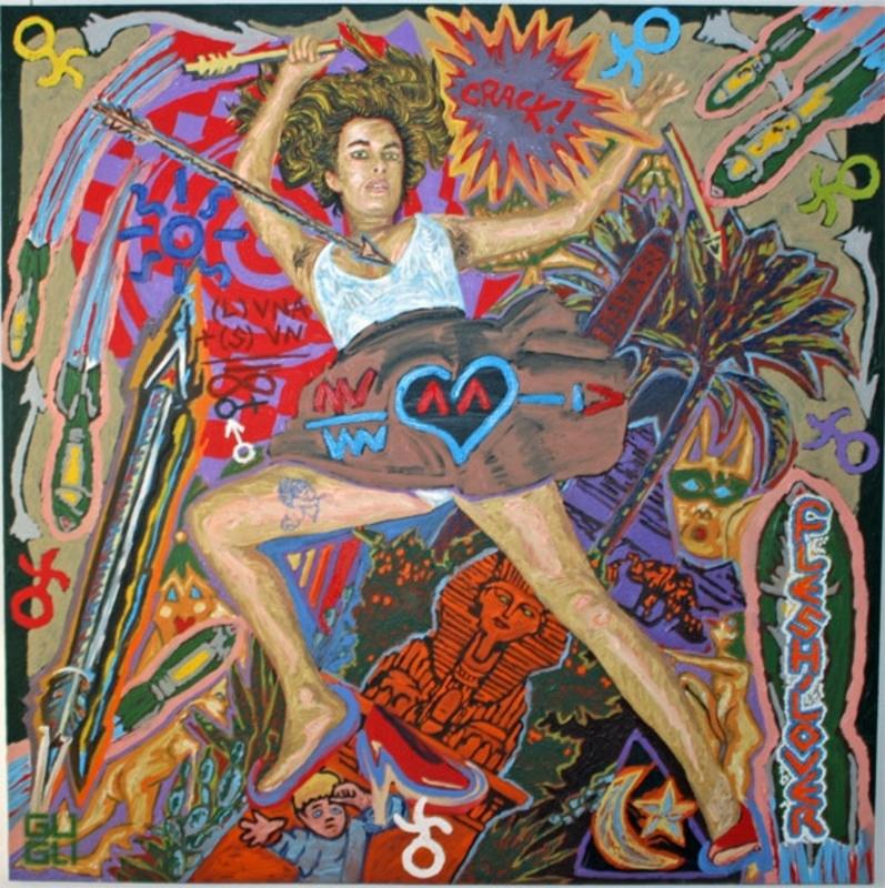 Laurent GUGLI - Pittura - Flesh lover