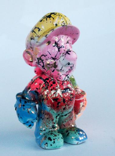 SPACO - Sculpture-Volume - pink super mario