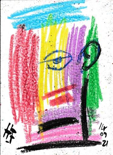 Harry BARTLETT FENNEY - Disegno Acquarello - dora 2 (14 09 21)