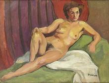 François DESNOYER (1894-1972) - Desnudo