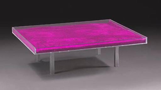 伊夫·克莱因 - 雕塑 - Table rose