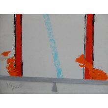 Aldo MONDINO - Peinture - Bilancia