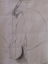 Siegfried ANZINGER - Drawing-Watercolor - Figur