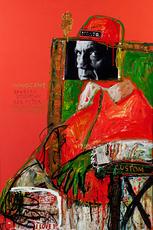 Maxim BASHEV - Painting - Self-Confident Joker
