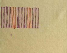 Giorgio GRIFFA - Peinture - Senza titolo
