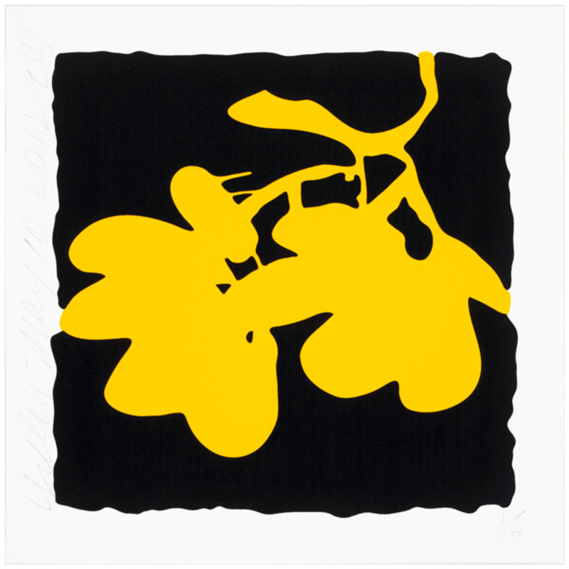 Donald SULTAN - Print-Multiple - Yellow, May 10, 2012
