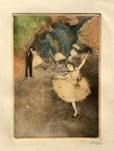 埃德加•德加 - 版画 - danseuse