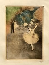 Edgar DEGAS - Print-Multiple - danseuse