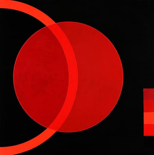 Joël STEIN - Pintura - Rouge laser