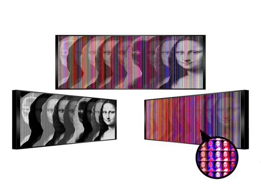 Patrick RUBINSTEIN - Painting - Gli occhi