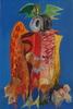Jean AUJAME - Drawing-Watercolor - le HIBOU