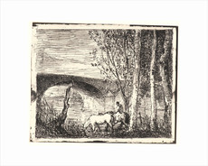 Charles François DAUBIGNY - Print-Multiple - Le Pont