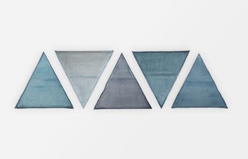 Lynn UMLAUF - Pintura - 5 Triangles
