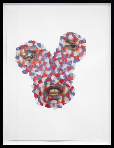 Tony OURSLER - Pittura - Blem