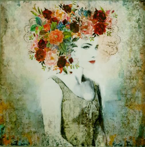 Laura BOFILL - Pittura - Mujer de palacio