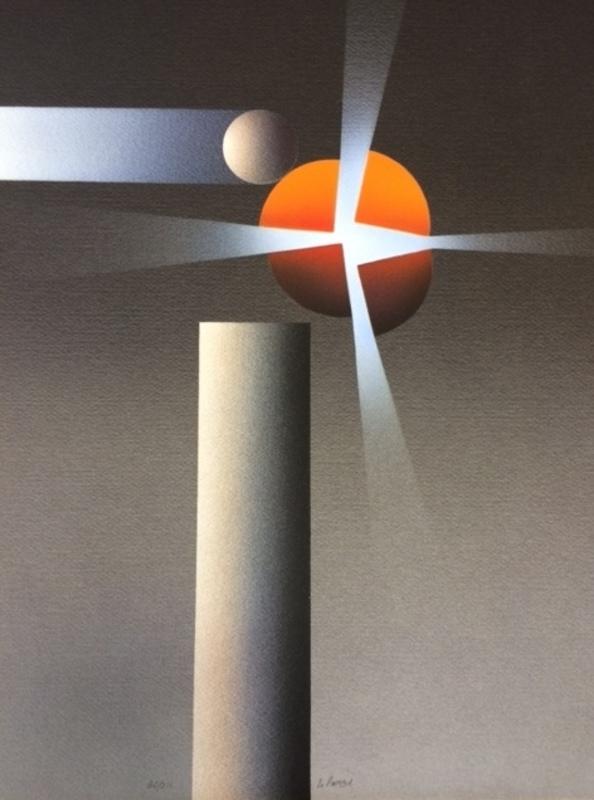 Julio LE PARC - Stampa-Multiplo - composition
