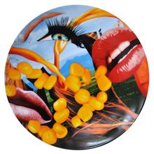"""Jeff KOONS (1955) - Plate """"Lips"""""""