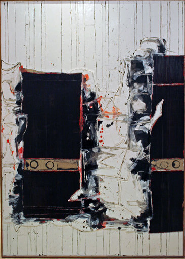 John Harrison LEVEE - Painting - Mars I - 1999