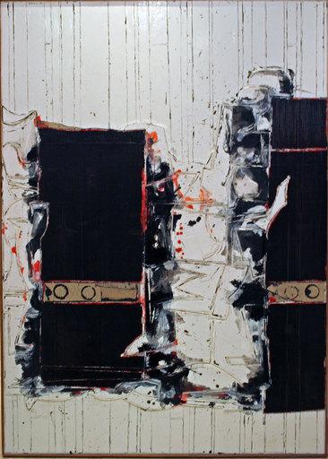 John Harrison LEVEE - 绘画 - Mars I - 1999