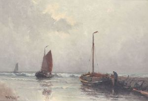 Henk DEKKER - Pintura - Marine