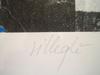 Jacques VILLEGLÉ - Grabado - 50 RUE TURBIGO LITHOGRAPHIE GAUFRE