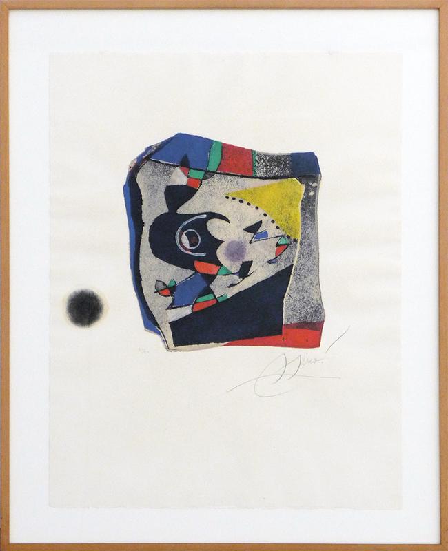 Joan MIRO - Estampe-Multiple - Gaudí 34