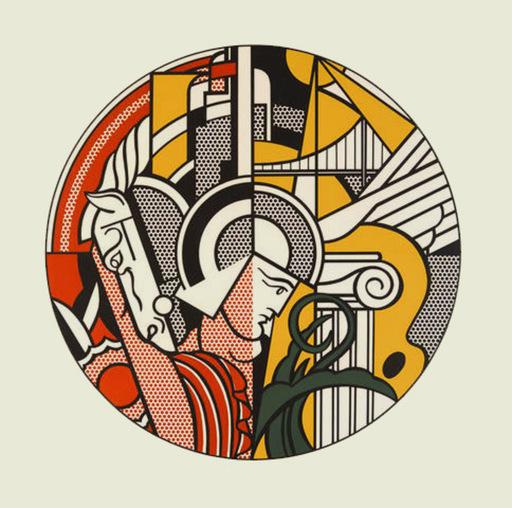 Roy LICHTENSTEIN - Stampa-Multiplo - The Solomon R. Guggenheim Museum Poster