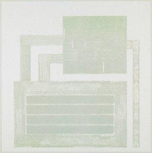 Peter HALLEY - Estampe-Multiple - S/T 1