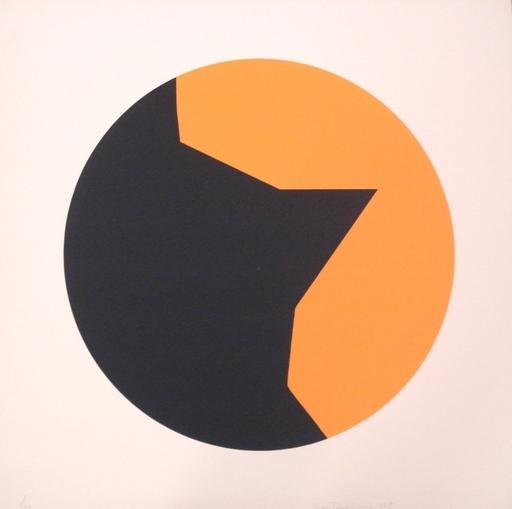 Leon Polk SMITH - Print-Multiple - Orange-Schwarz Mediumcolor