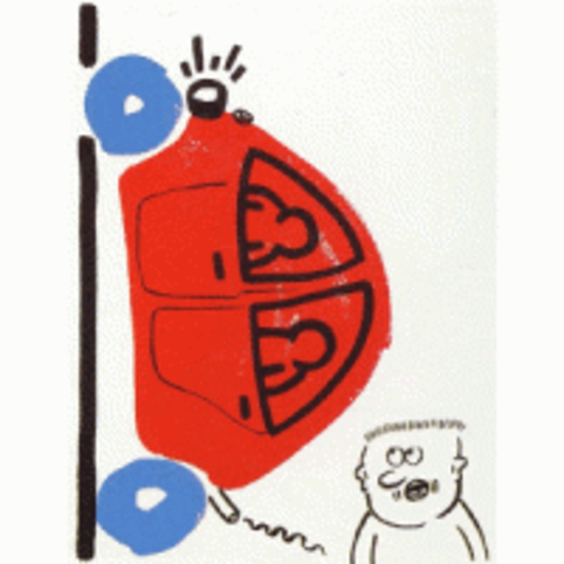 Keith HARING - Estampe-Multiple - The Story of Red and Blue (16)